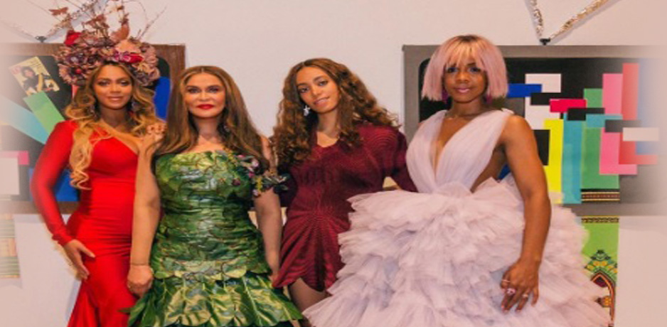 beyonce wearable art gala